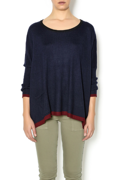 Shoptiques Product: Tricolor Boxy Sweater