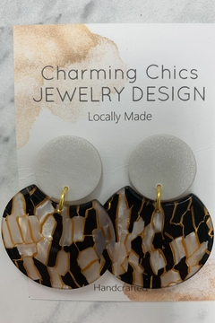 Charming Chics Metric Earrings - Alternate List Image