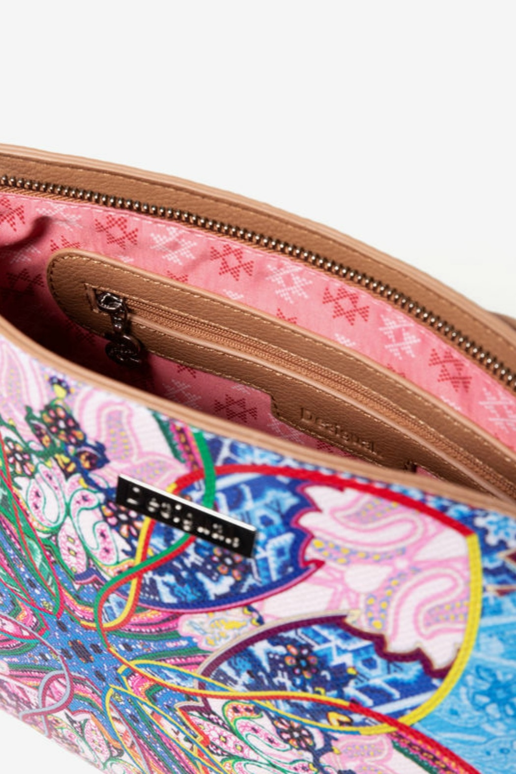 DESIGUAL Mexican Cards Messenger Bag - Back Cropped Image