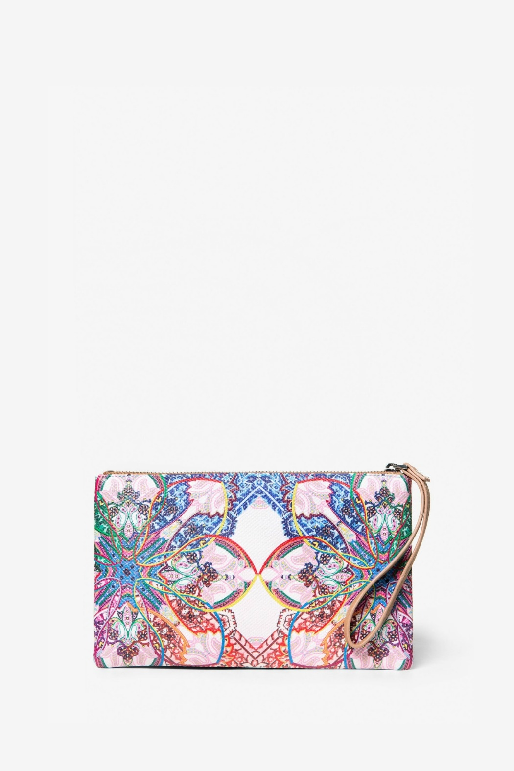 DESIGUAL Mexican Cards Monica Wristlet - Front Full Image