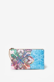 DESIGUAL Mexican Cards Monica Wristlet - Product Mini Image