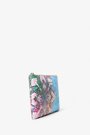 DESIGUAL Mexican Cards Monica Wristlet - Side cropped