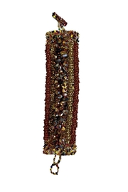 mexican collection Hand-Beaded Center Cuff - Product Mini Image