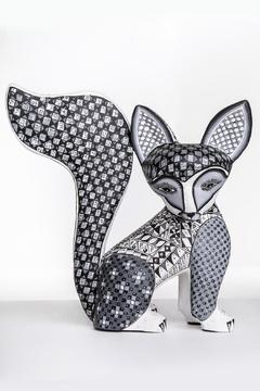 Shoptiques Product: Handmade Fox Alebrije Sculpture
