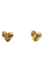 Jessica Ricci Jewelry Mexico Milagro Heart Stud Earrings - Product Mini Image
