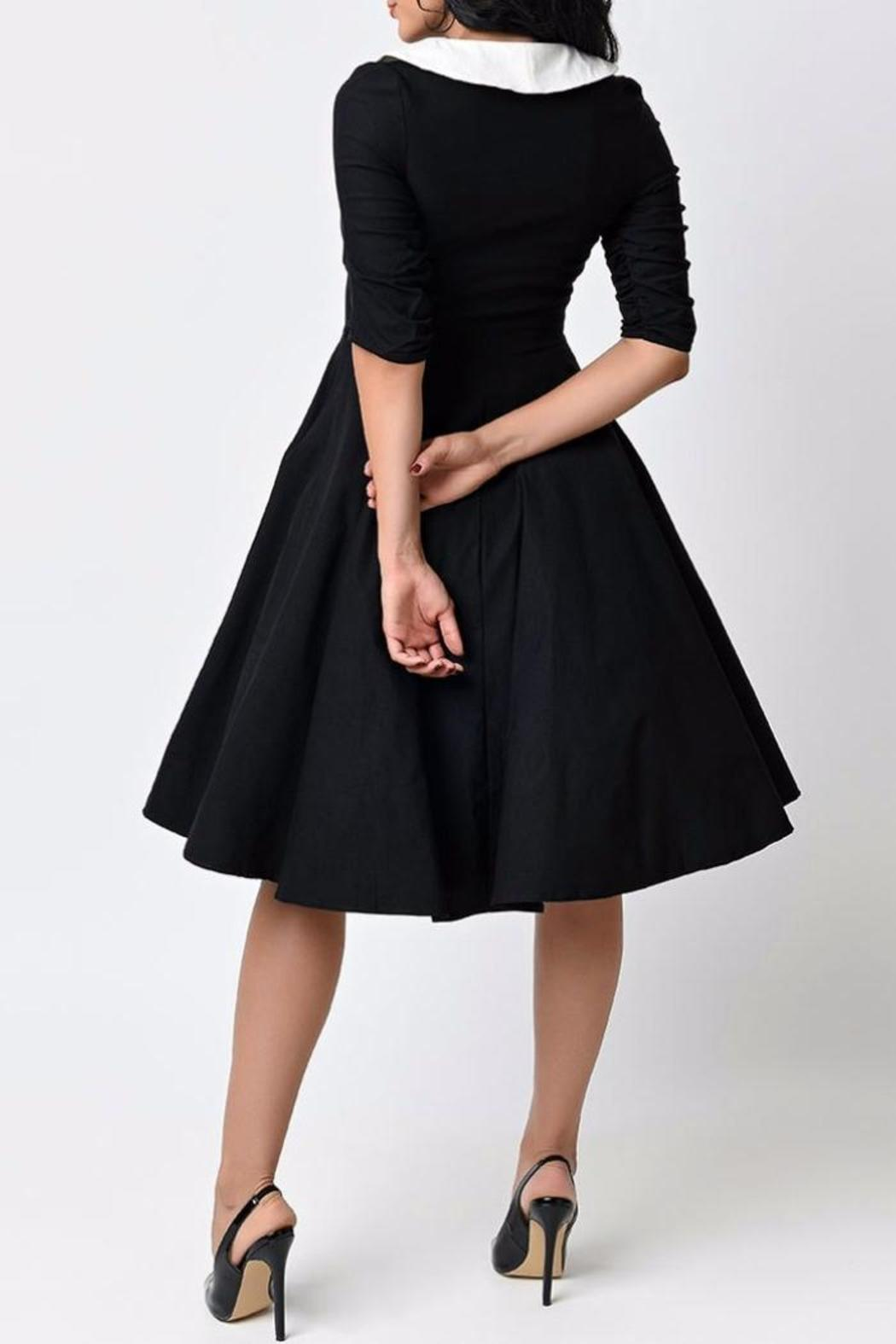 MHGS 1950's Swing Dress - Front Full Image