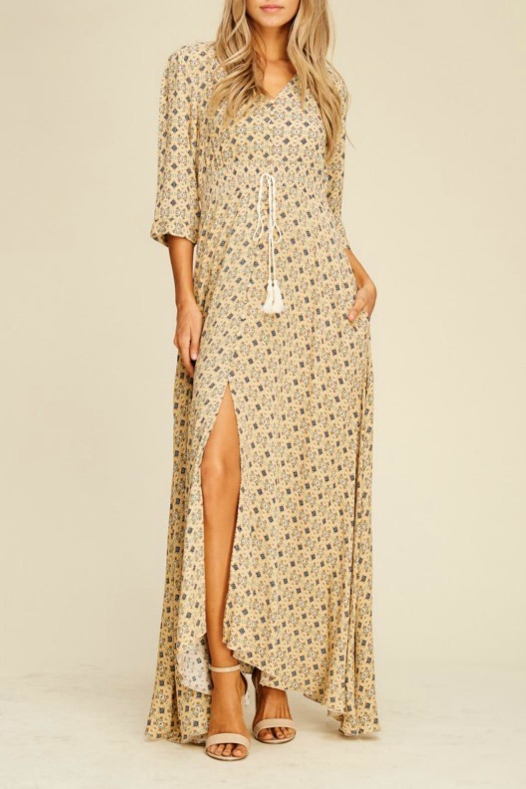 MHGS Annabelle Maxi Dress - Front Cropped Image