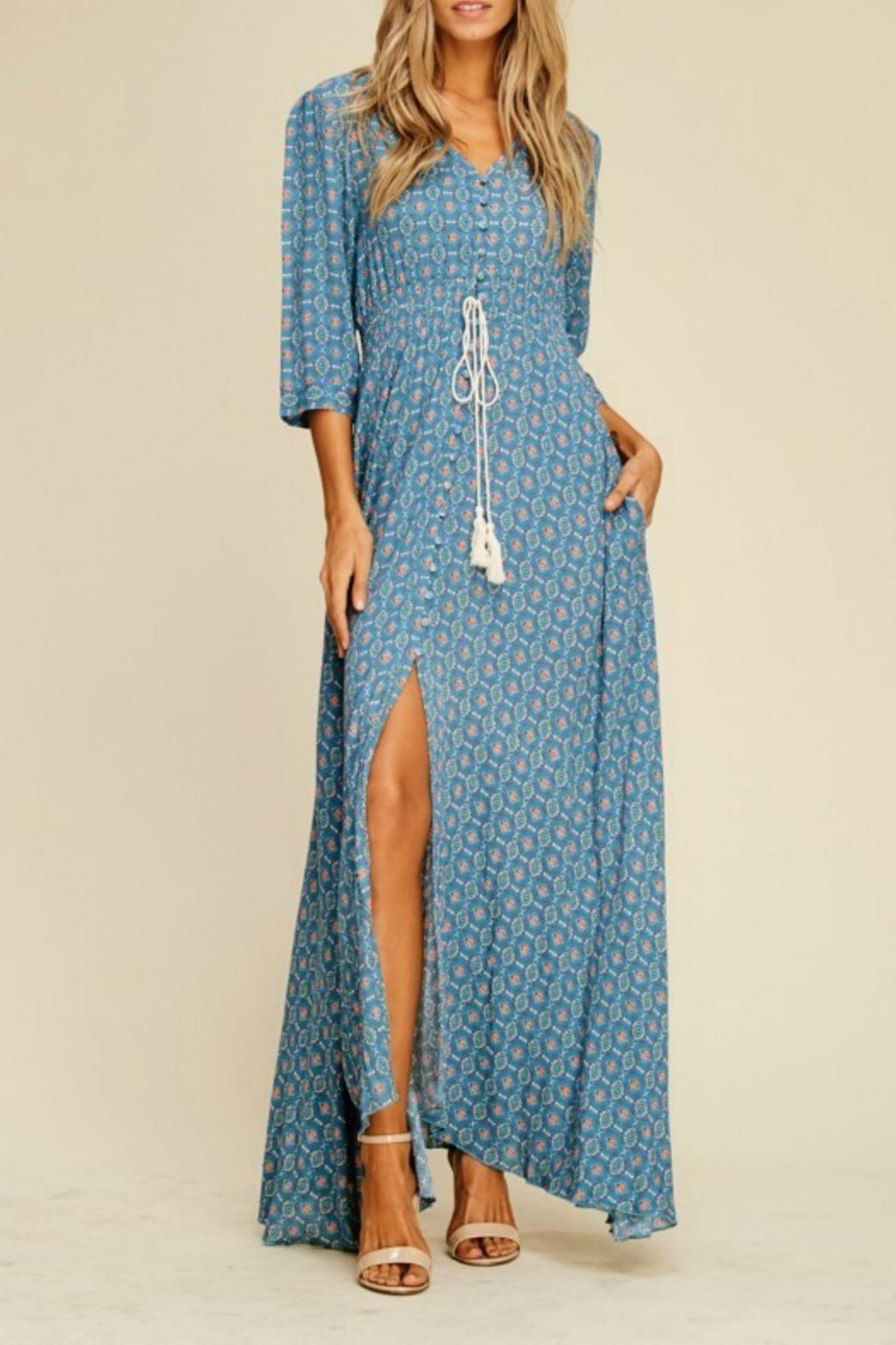 MHGS Annabelle Maxi Dress - Side Cropped Image