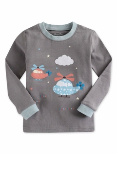 Shoptiques Product: Boys Helicopter Pajama's