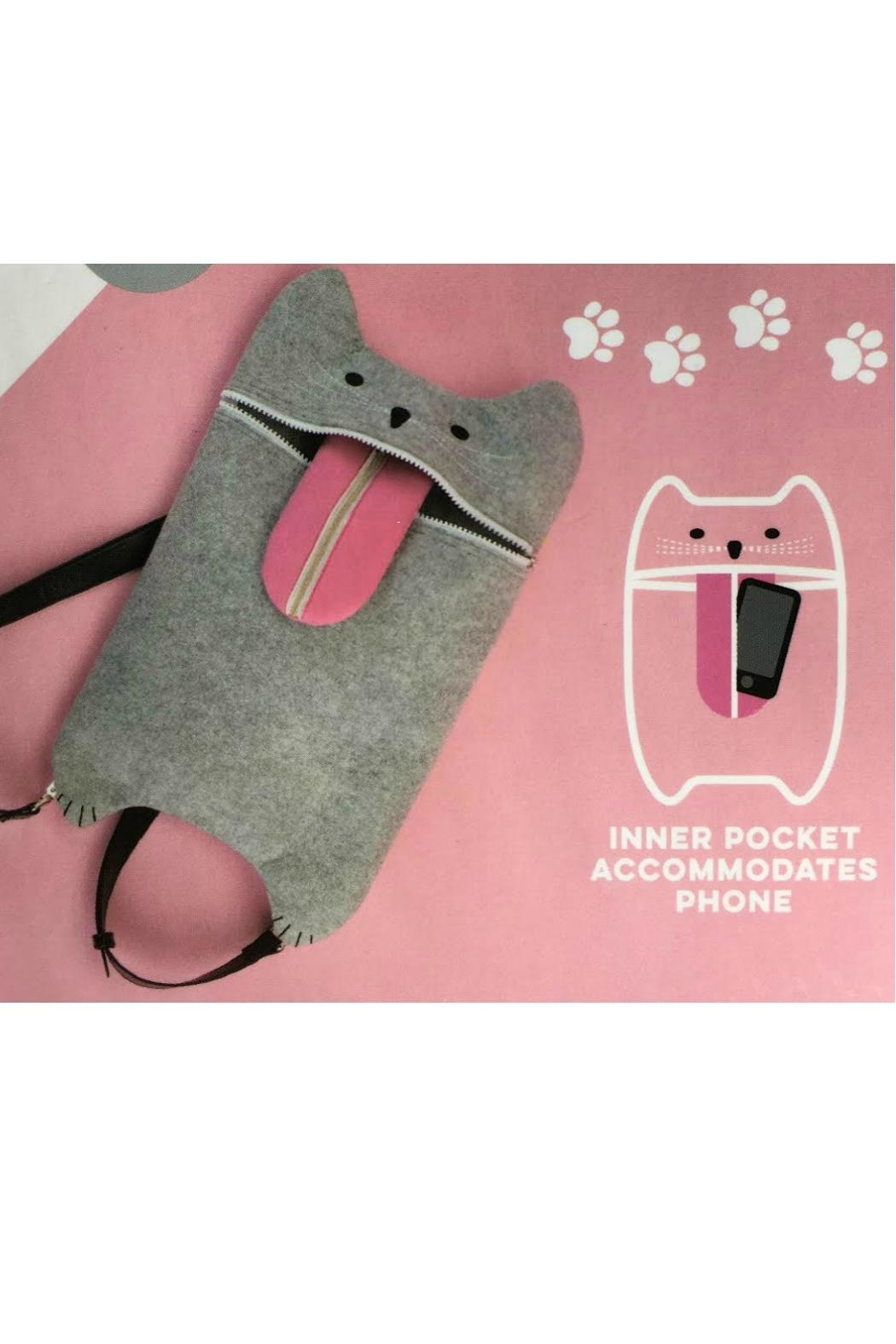 MHGS Cat Convertible Backpack - Back Cropped Image