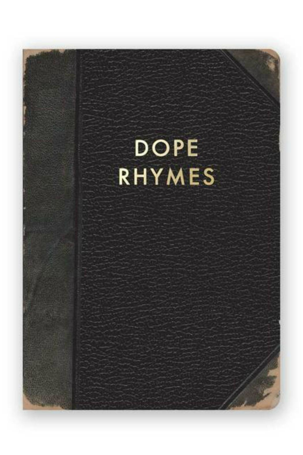 MHGS Dope Rhymes Journal - Main Image