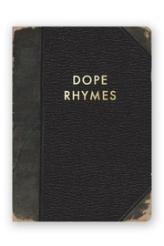 MHGS Dope Rhymes Journal - Front cropped