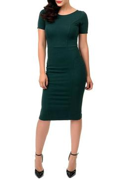 MHGS Emerald Wiggle Dress - Product List Image