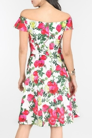 MHGS Floral Party Dress - Side cropped