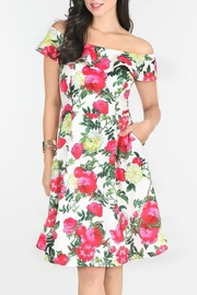 MHGS Floral Party Dress - Front full body