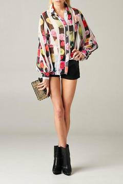 MHGS Floral Stripe Blouse - Product List Image