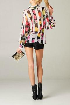 MHGS Floral Stripe Blouse - Alternate List Image