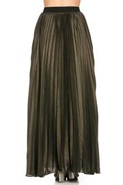 MHGS Gold Pleated Maxi - Side cropped