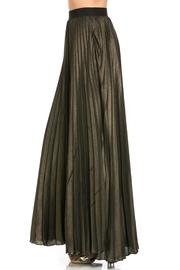 MHGS Gold Pleated Maxi - Product Mini Image