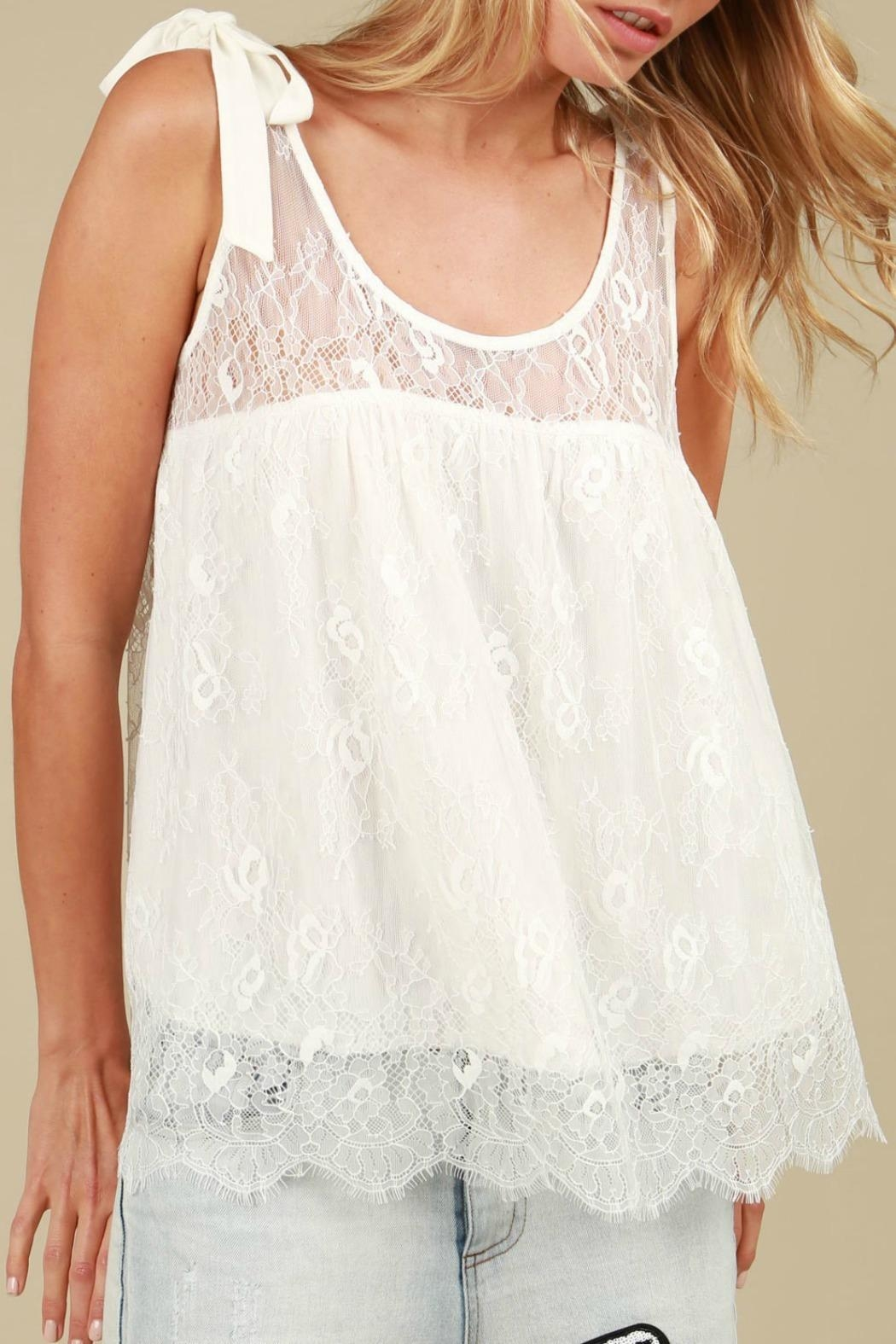 MHGS Lace Bow Top - Main Image