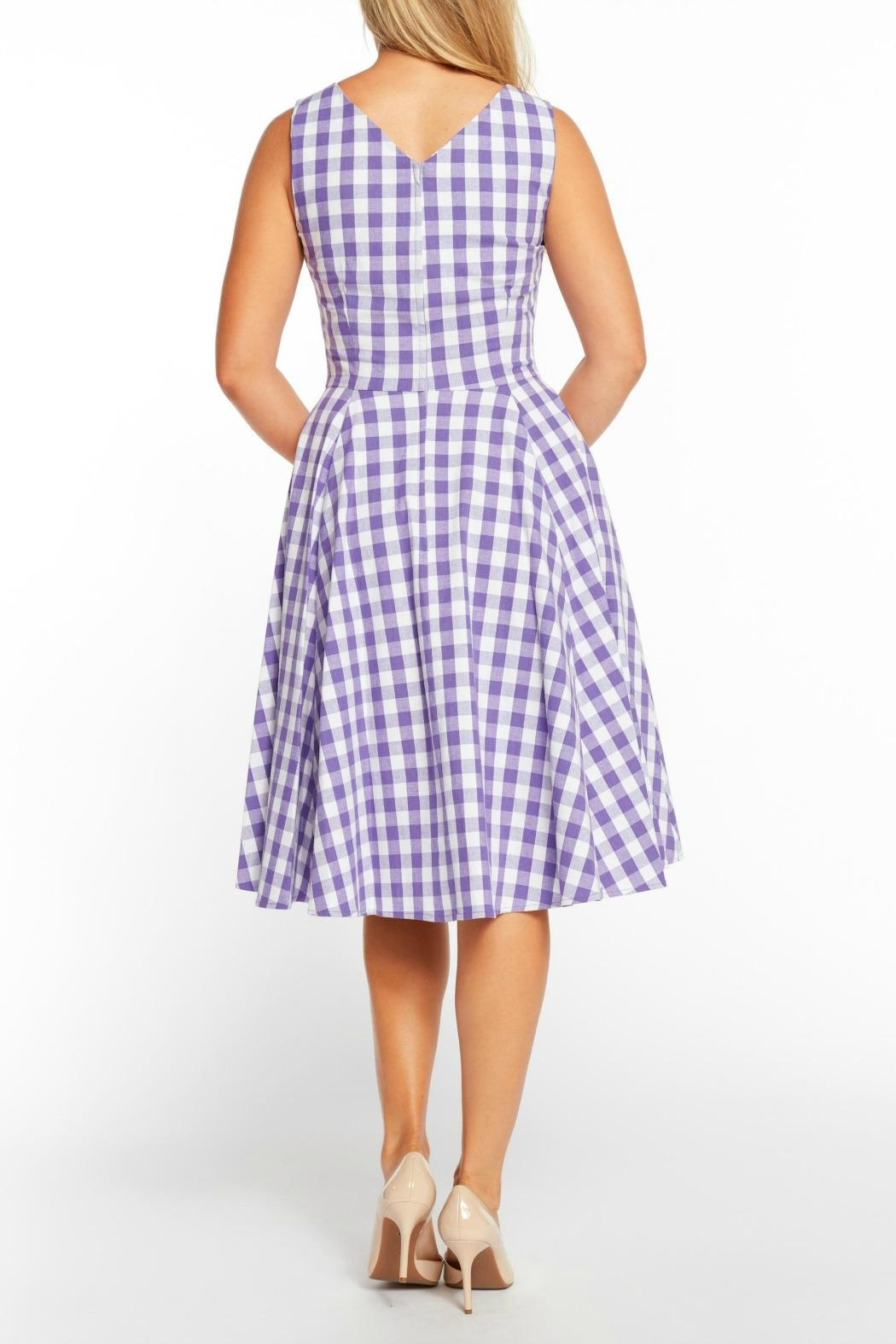 188c1f0cdd2 MHGS Lavender Gingham Dress from Florida by Mad Hatter General Store ...