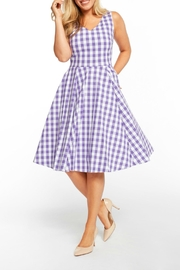 MHGS Lavender Gingham Dress - Product Mini Image