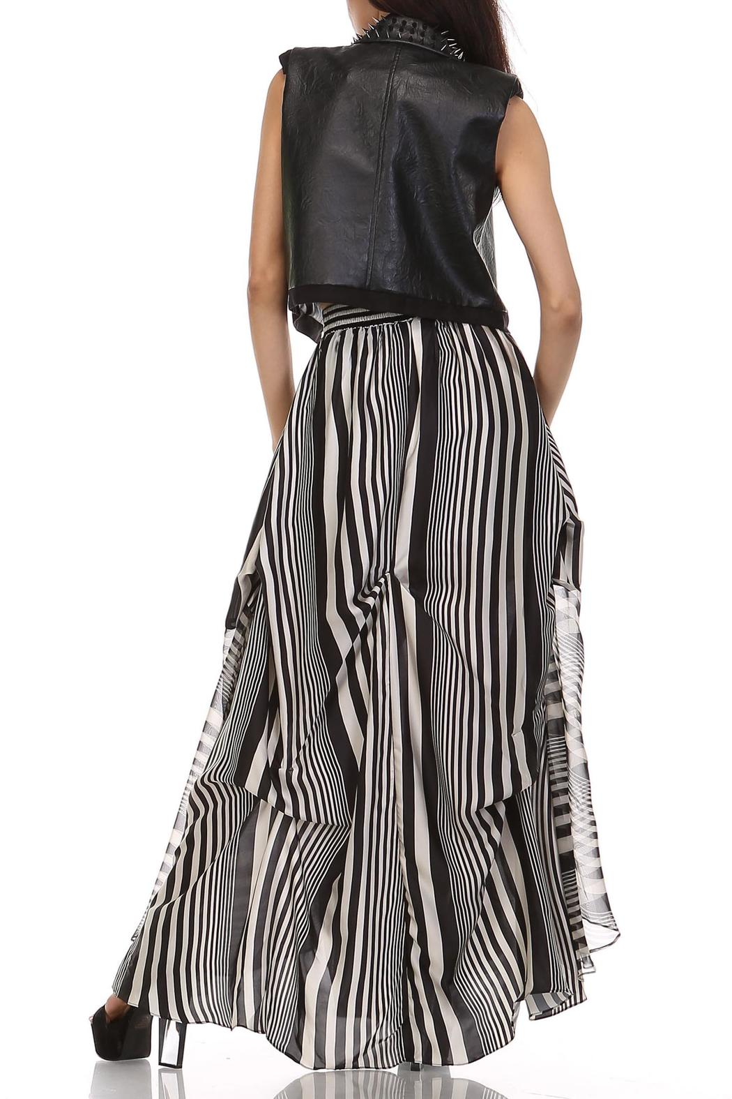 MHGS Licorice Stripe Maxi - Back Cropped Image