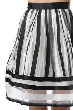 MHGS Licorice Stripe Skirt - Alternate List Image