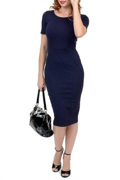 MHGS Navy Wiggle Dress - Alternate List Image