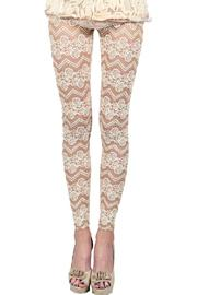 MHGS Stretch Lace Leggings - Product Mini Image