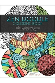 MHGS Zendoodle Coloring Book - Product Mini Image