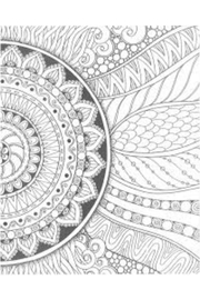 MHGS Zendoodle Coloring Book - Front full body