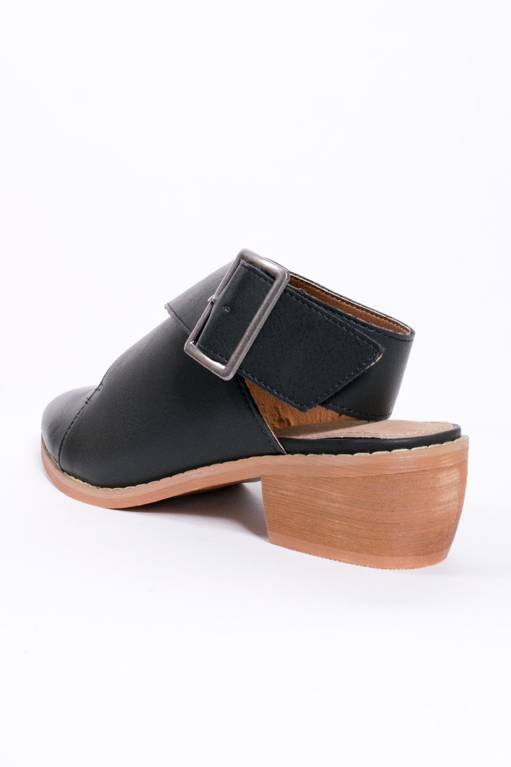 Mi.im Buckle Wrap Shoes - Back Cropped Image