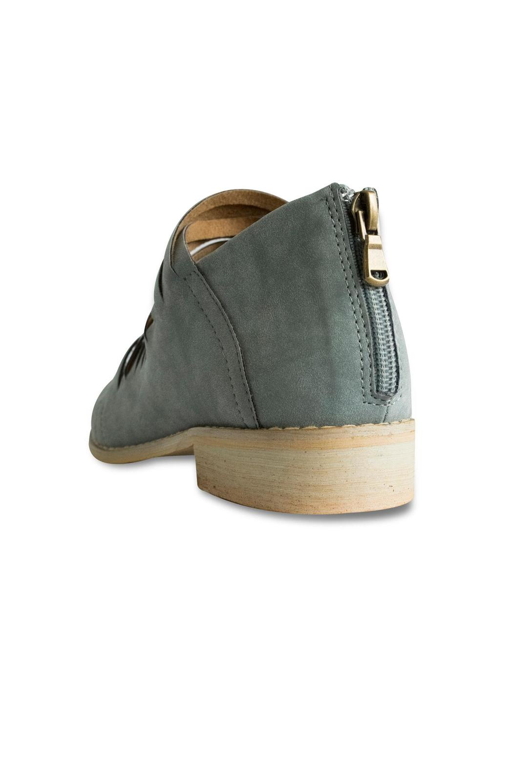 Mi.im Cutout Ankle Booties - Back Cropped Image