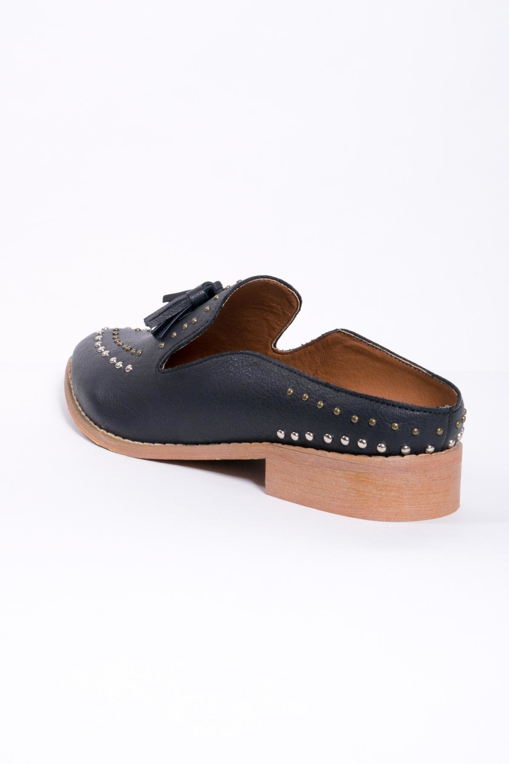 Mi.im Studded Tassel Loafer - Back Cropped Image