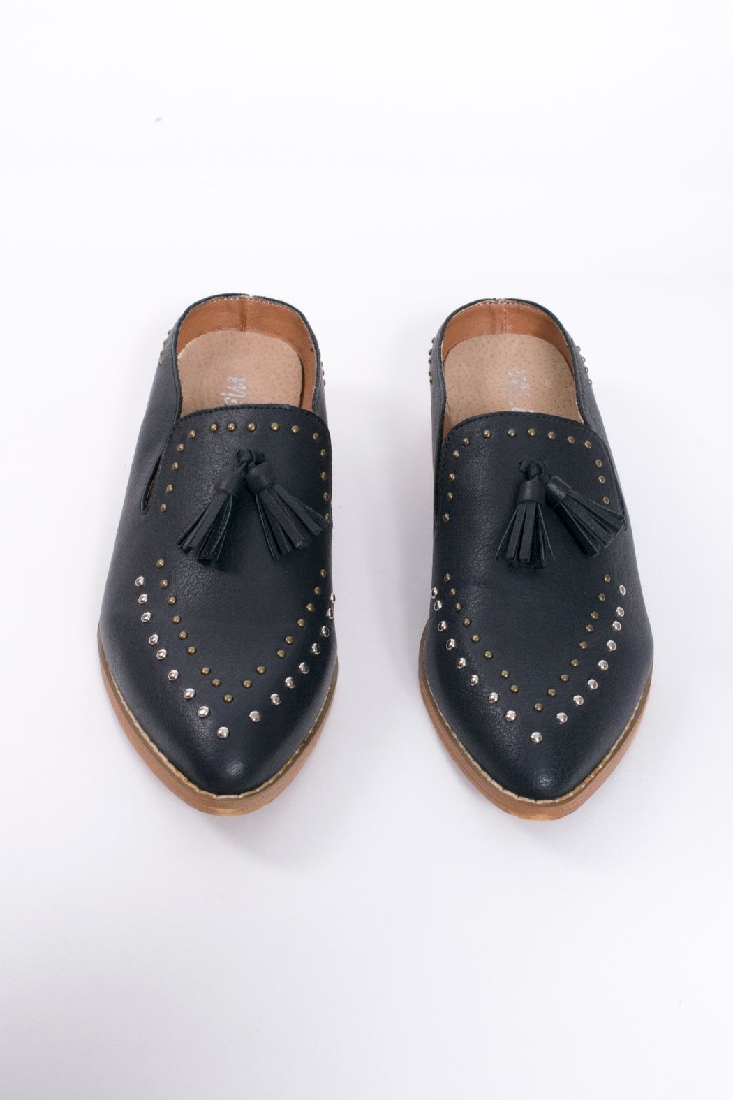 Mi.im Studded Tassel Loafer - Side Cropped Image