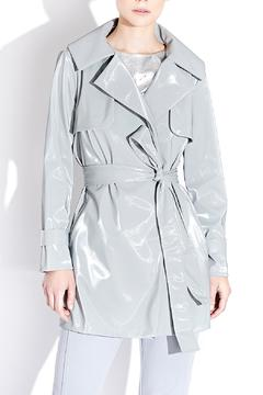 Mi Jong Lee Short Trench-Style Raincoat - Product List Image