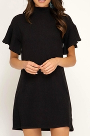 She + Sky Mia Black Dress - Product Mini Image