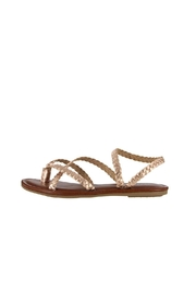 Mia Braid Rose Gold Sandal - Product Mini Image