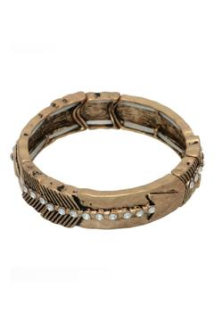 Shoptiques Product: Brass Arrow Bracelet