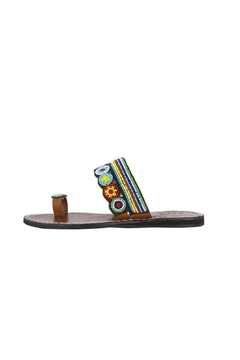 Mia Bright Beaded Athens Sandal - Alternate List Image