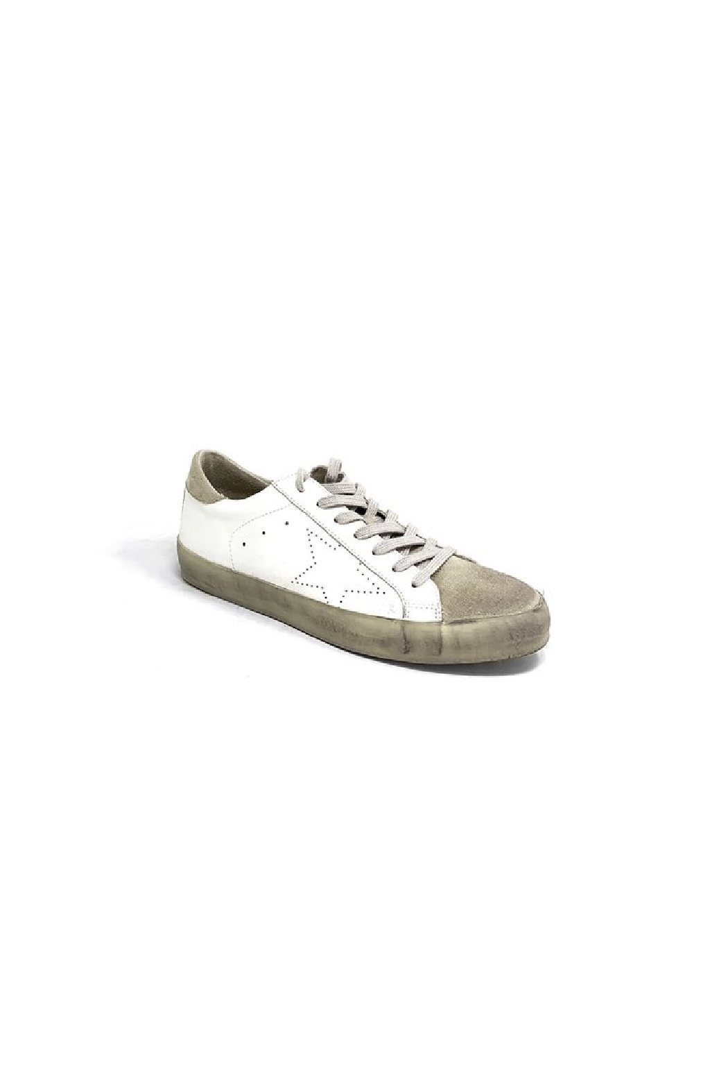 Shu Shop Shoes Mia Distressed Sneaker - Front Full Image