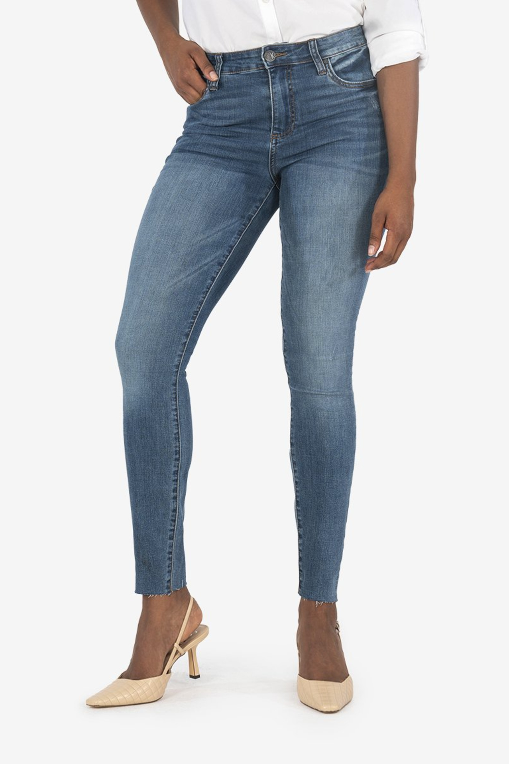 Kut from the Kloth Mia H/R Ankle Skinny - Main Image