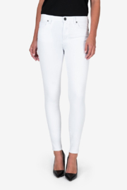 Kut from the Kloth Mia H/R White Skinny - Product Mini Image