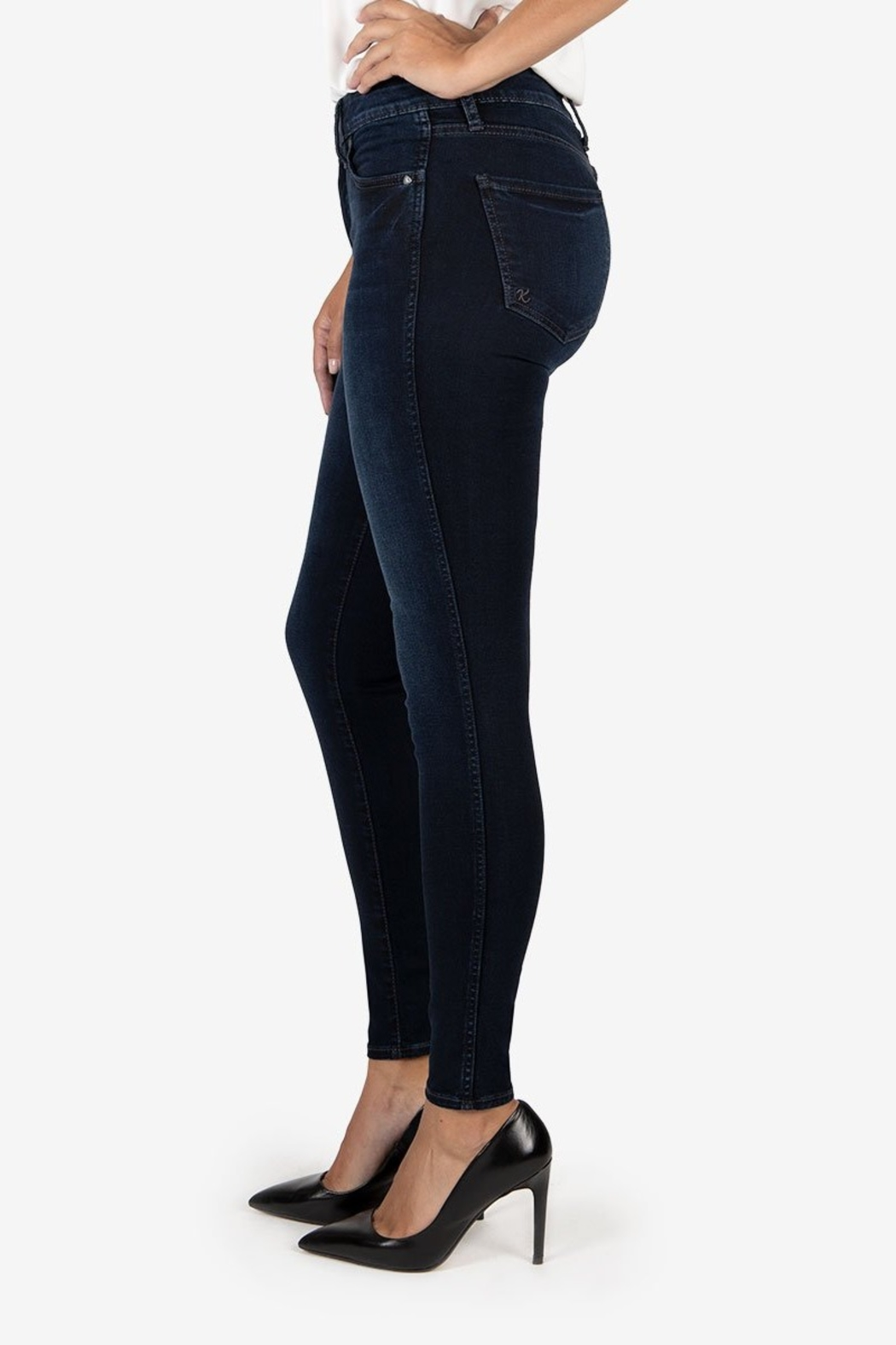 Kut from the Kloth MIA HIGH RISE FAB AB TOOTHPICK - Front Full Image