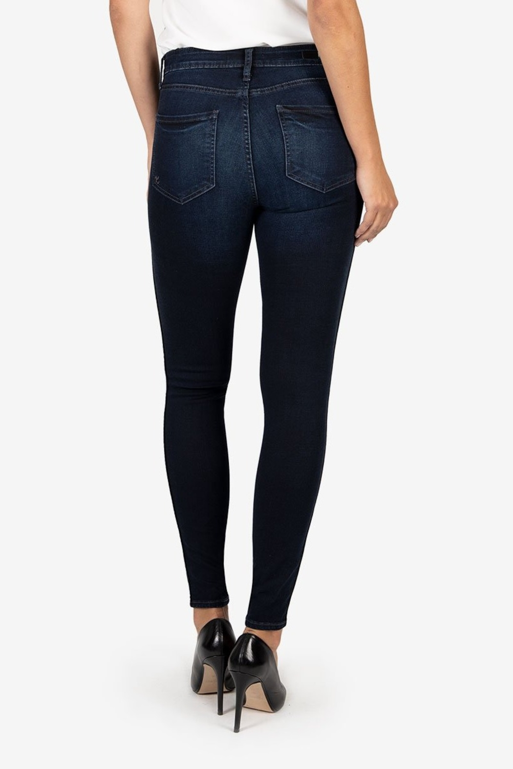 Kut from the Kloth MIA HIGH RISE FAB AB TOOTHPICK - Side Cropped Image