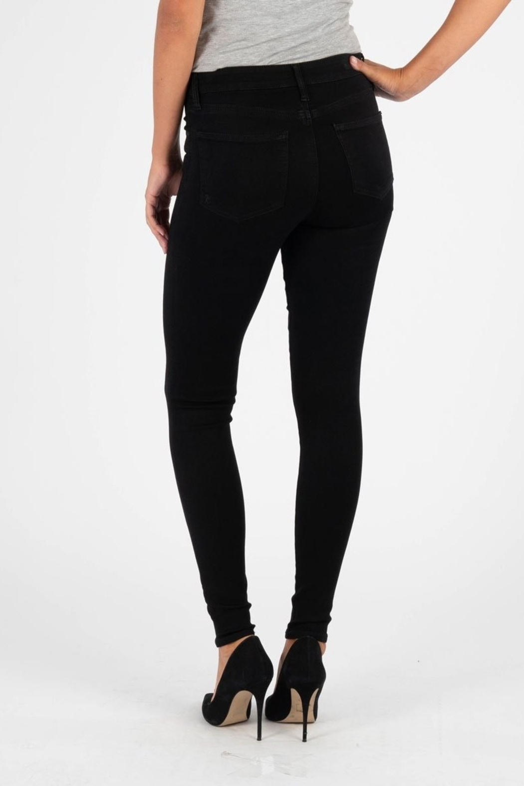 Kut from the Kloth MIA HIGHRISE SKINNY - Back Cropped Image