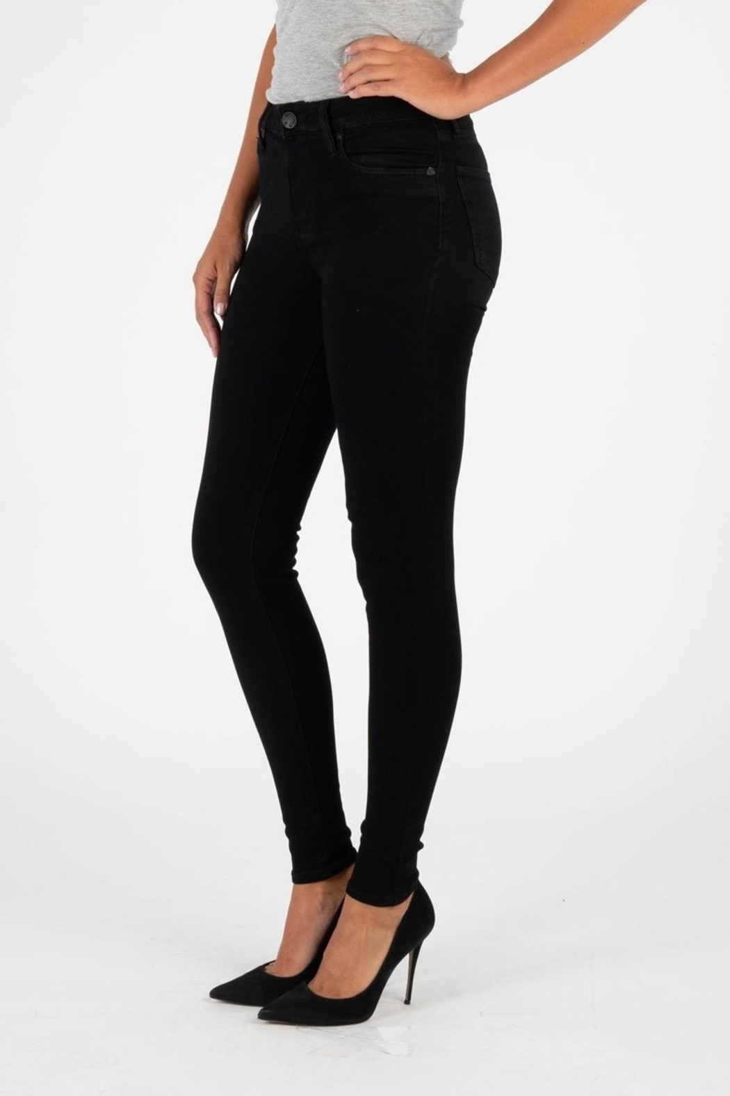 Kut from the Kloth MIA HIGHRISE SKINNY - Side Cropped Image