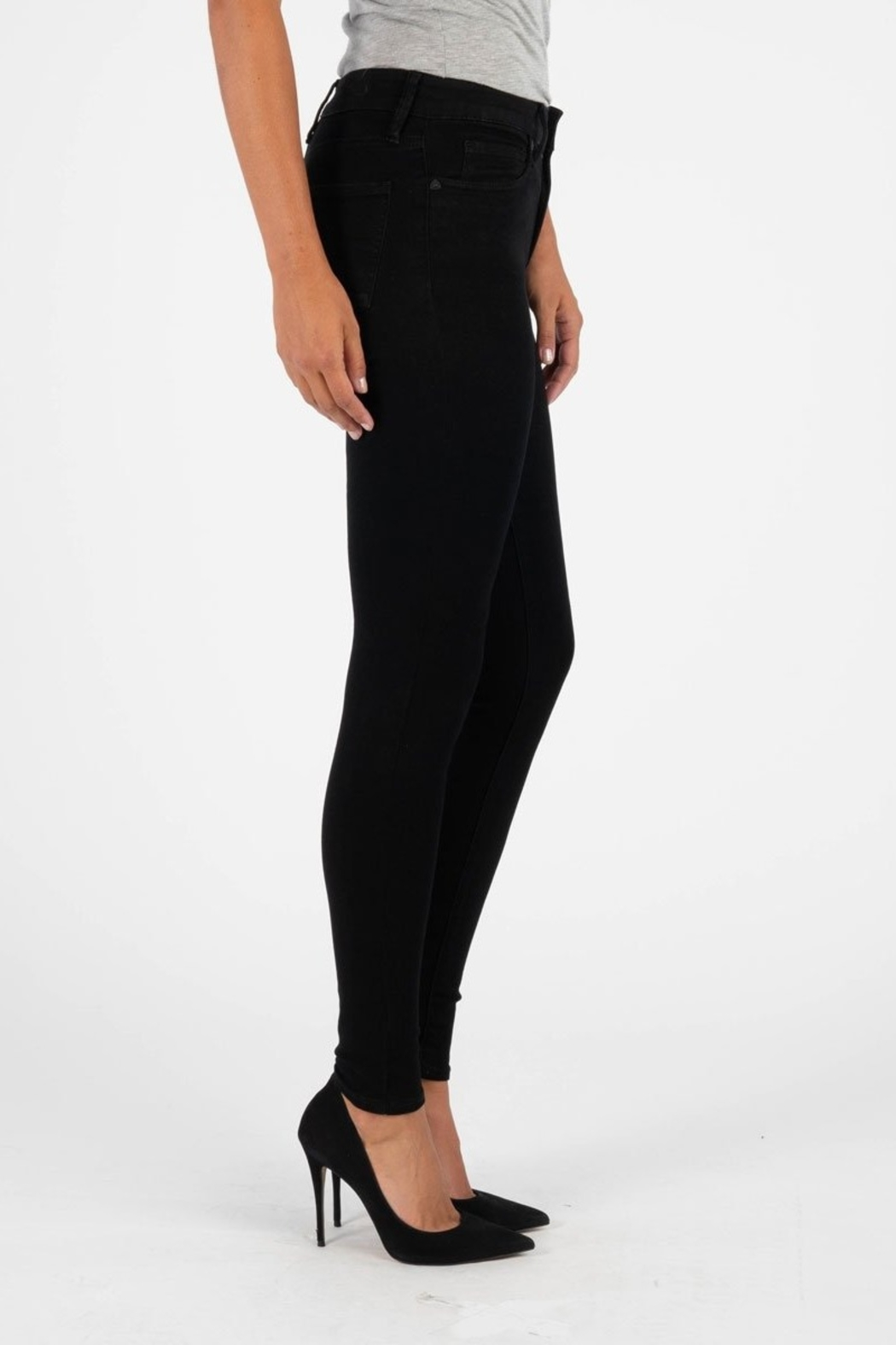 Kut from the Kloth MIA HIGHRISE SKINNY - Front Full Image