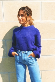Knitz For Love & Lemons Mia Pointelle Sweater - Product Mini Image